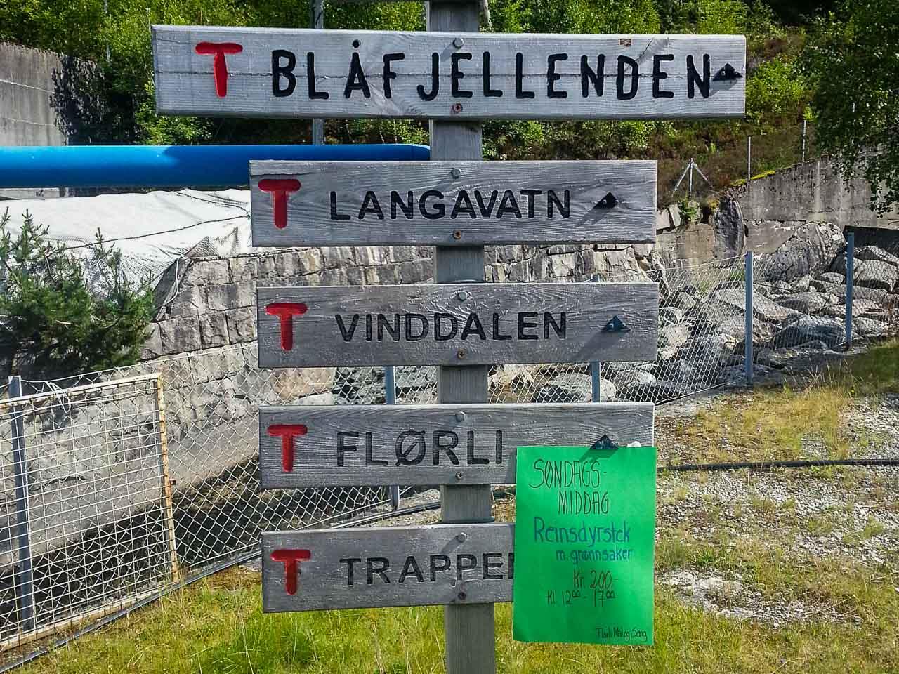 Norwegian sign
