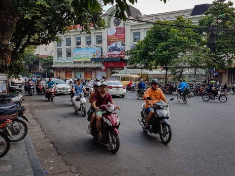 Ulice Hanoi cd.