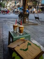 Kawa kokosowa w Cong Caphe