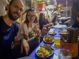 Street food w Hanoi