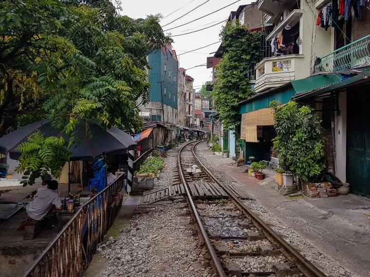 Kolejowa uliczka