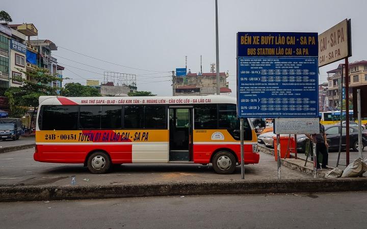 Przystanek w Lao Cai