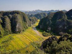 Okolice Ninh Binh.