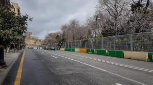 Pozostałość po ulicznych wyścigach