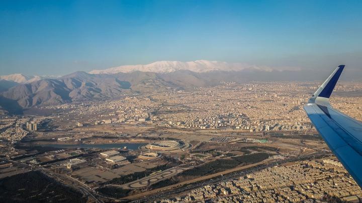 Wylot z Teheranu