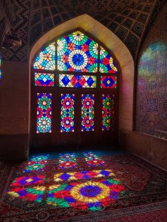 Różowy meczet w Shirazie