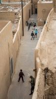 Dzieci na ulicach starego miasta