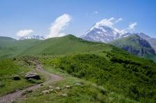 Szlak w kierunku Kazbeku