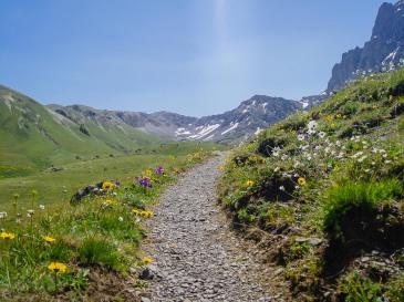 W drodze do Chaukhi Pass