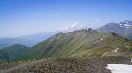 Szlak na Chaukhi Pass