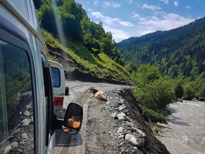 W drodze do Ushguli